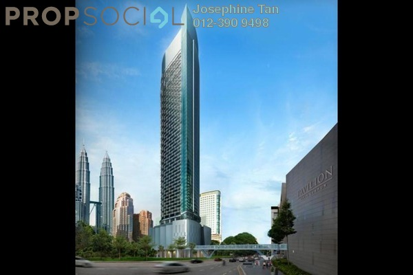 For Sale Condominium at Banyan Tree, KLCC Freehold Semi Furnished 3R/2B 2.66m