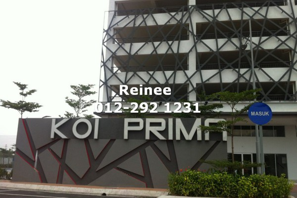 For Rent Condominium at Koi Prima, Puchong Leasehold Semi Furnished 3R/2B 1.1k