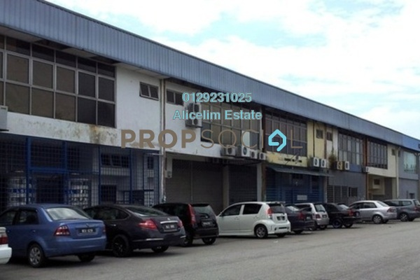 For Rent Factory at TSB Commercial Centre, Sungai Buloh Leasehold Semi Furnished 0R/2B 5.5k