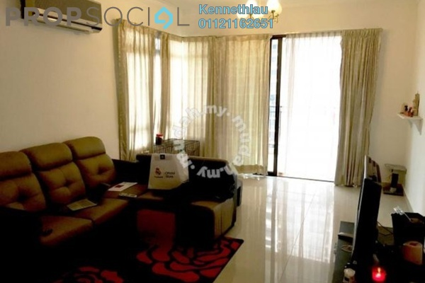 For Rent Serviced Residence at e-Tiara, Subang Jaya Freehold Fully Furnished 3R/2B 3k
