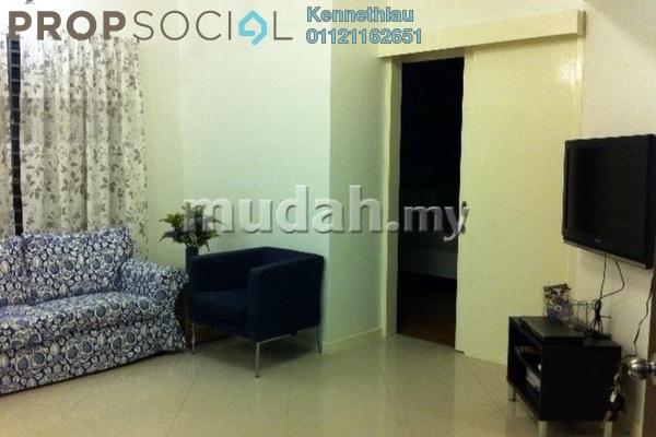For Rent Serviced Residence at Saujana Residency, Subang Jaya Freehold Fully Furnished 2R/1B 2.7k
