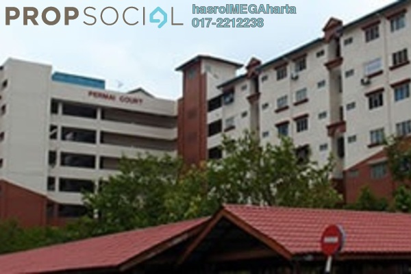 For Sale Apartment at Permai Court, Puchong Freehold Unfurnished 3R/2B 188k