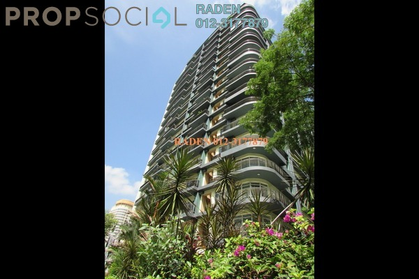 For Rent Condominium at 38 Bidara, Bukit Ceylon Freehold Fully Furnished 2R/2B 3k