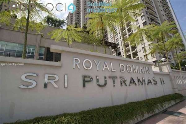 For Sale Condominium at Sri Putramas II, Dutamas Freehold Fully Furnished 3R/2B 680k