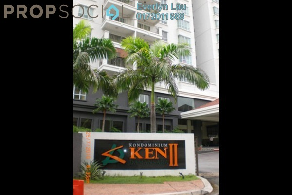 For Rent Condominium at Ken Damansara II, Petaling Jaya Freehold Semi Furnished 3R/2B 2.8k