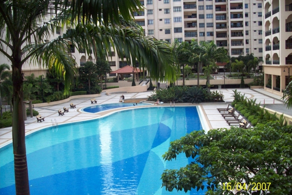 For Rent Condominium at 1 Bukit Utama, Bandar Utama Freehold Fully Furnished 4R/2B 4.5k