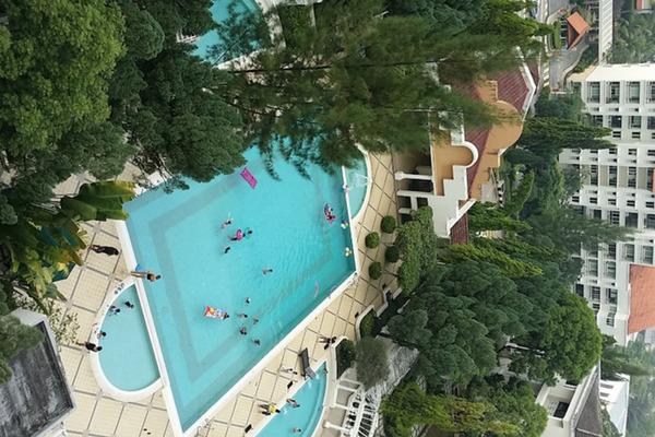 For Rent Condominium at Tivoli Villas, Bangsar Freehold Fully Furnished 2R/2B 3.9k