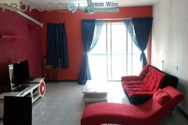 For Rent Condominium at Vista Tasik, Bandar Sri Permaisuri Freehold Fully Furnished 3R/2B 1.8k