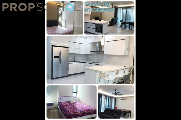 For Rent Condominium at The Treez, Bukit Jalil Freehold Fully Furnished 3R/2B 3.5k