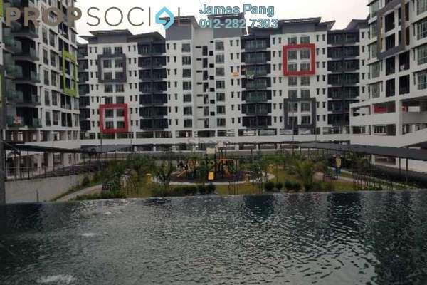 For Rent Condominium at Mahkota Residence, Bandar Mahkota Cheras Freehold Semi Furnished 3R/2B 2k