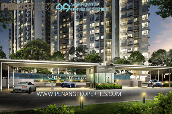 For Sale Condominium at One Imperial, Sungai Ara Freehold Unfurnished 3R/3B 530k