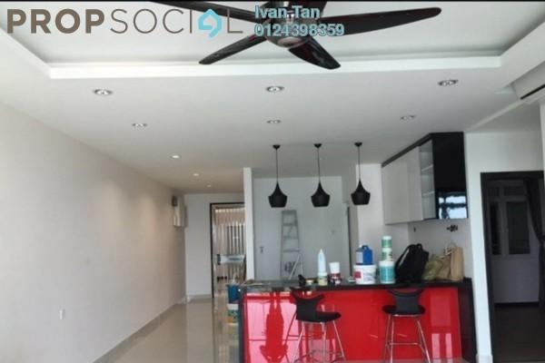 For Rent Condominium at Vertiq, Gelugor Freehold Semi Furnished 3R/2B 2.5k