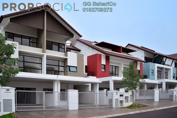 For Sale Terrace at Cahaya Alam, Shah Alam Leasehold Semi Furnished 4R/3B 890k