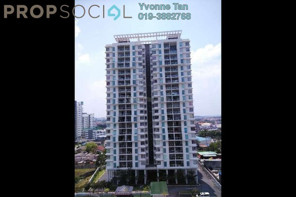 For Sale Condominium at Zen Residence, Puchong Leasehold Semi Furnished 3R/2B 650k