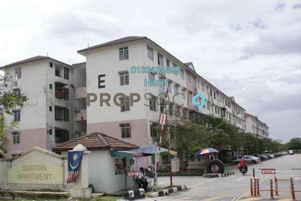 For Sale Apartment at Siantan Apartment, Puchong Leasehold Unfurnished 3R/1B 98k