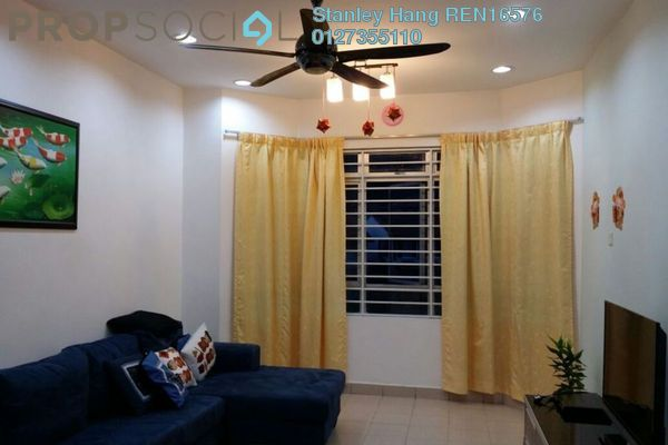 For Rent Apartment at D'Rimba, Kota Damansara Leasehold Fully Furnished 3R/2B 1.75k