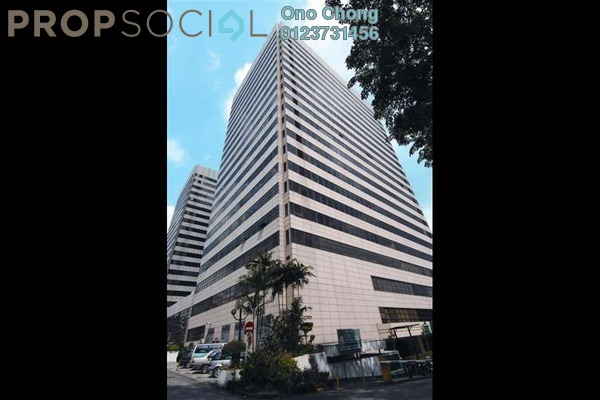 For Rent Office at Faber Tower, Taman Desa Freehold Unfurnished 0R/4B 4.5k