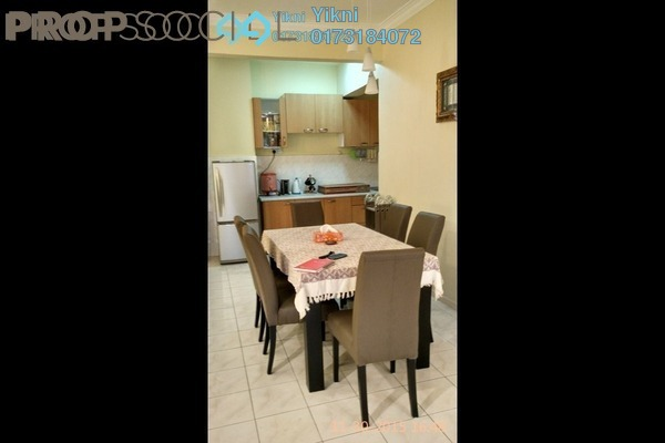 For Rent Condominium at City Garden Palm Villa, Pandan Indah Freehold Fully Furnished 3R/2B 2.2k