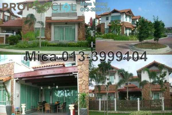 For Sale Bungalow at Setia Eco Park, Setia Alam Freehold Fully Furnished 7R/7B 3.55m