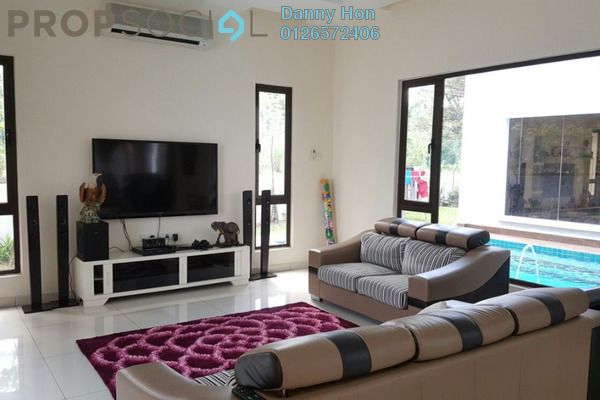 For Sale Bungalow at Saujana Impian, Kajang Freehold Fully Furnished 7R/7B 5m