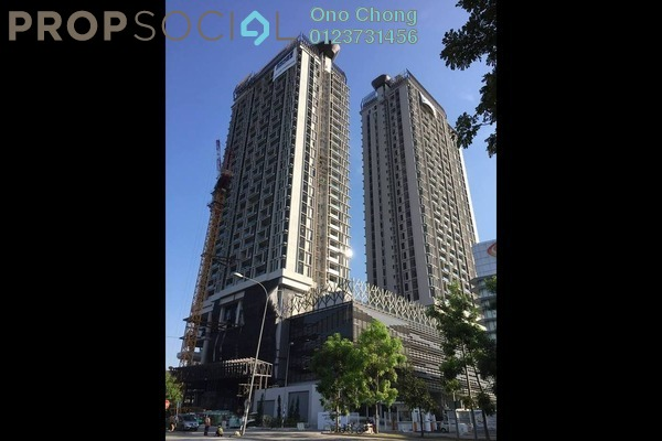 For Sale Condominium at Twin Arkz, Bukit Jalil Freehold Semi Furnished 2R/2B 868k
