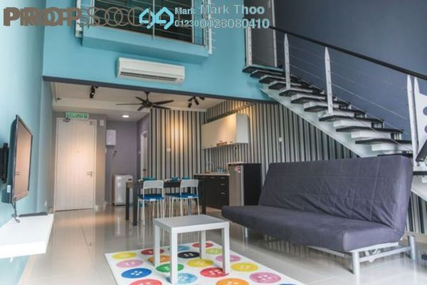 For Rent SoHo/Studio at The Scott Soho, Old Klang Road Freehold Fully Furnished 1R/2B 2.1k