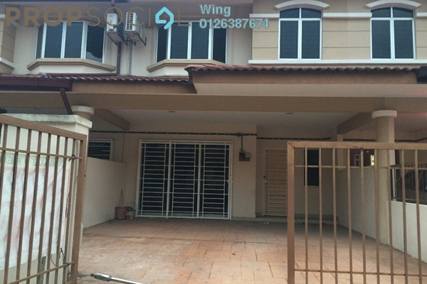 For Rent Terrace at Taman Sri Putra, Sungai Buloh Freehold Semi Furnished 4R/3B 1.15k