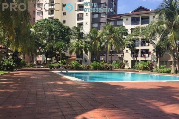 For Rent Condominium at Sri Damansara Court, Bandar Sri Damansara Freehold Fully Furnished 3R/2B 1.2k
