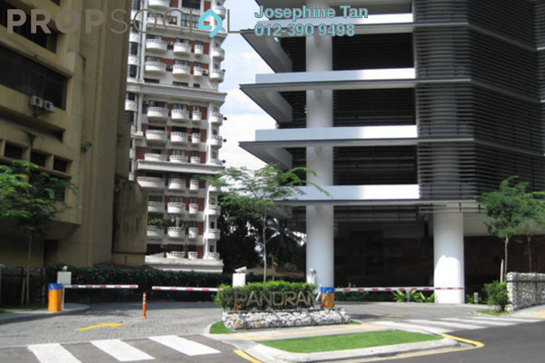 For Sale Condominium at Panorama, KLCC Freehold Semi Furnished 3R/2B 1.78m