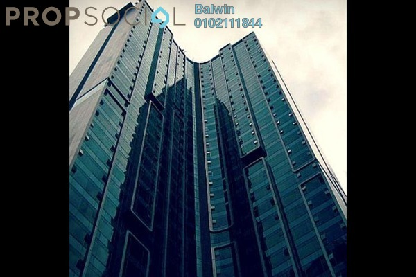 For Sale Condominium at Quadro Residences, KLCC Freehold Semi Furnished 4R/4B 2.81m