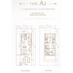 Type a2 precinct arundina propsocial small