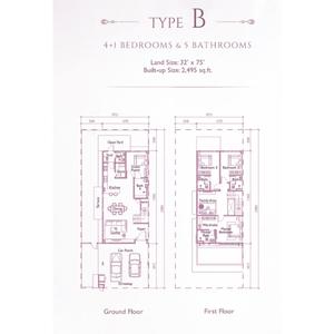 Type b precinct arundina propsocial small