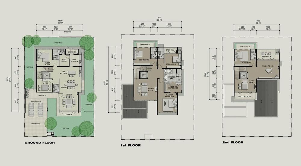 Setia Eco Park Asprella Floor Plan
