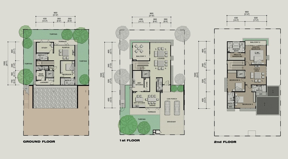 Setia Eco Park Briza Floor Plan