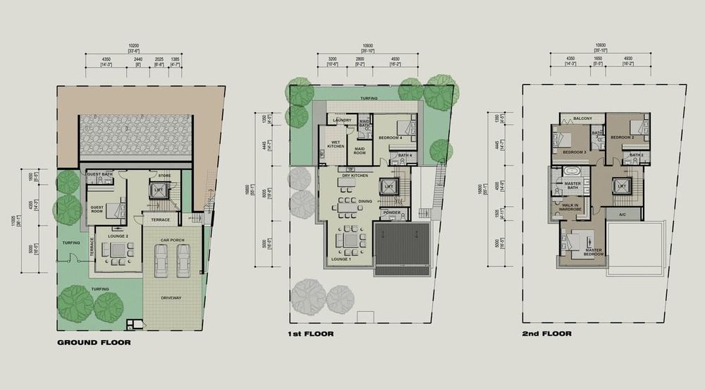 Setia Eco Park Camellia Floor Plan