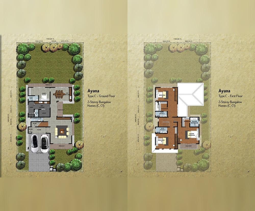 Setia Eco Park Ayana Floor Plan