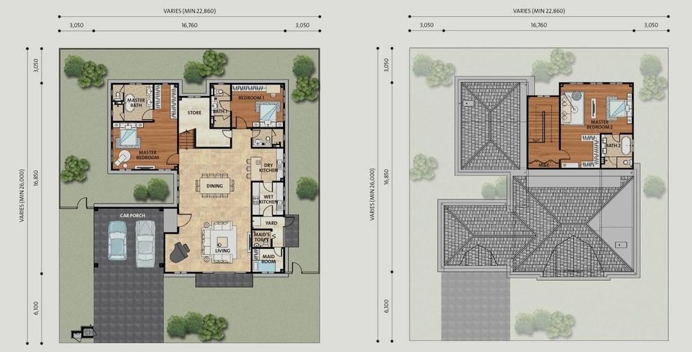 Setia Eco Park Bohemia Floor Plan