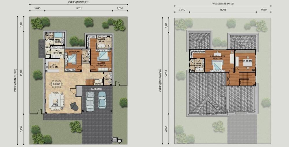 Setia Eco Park Cloverdale Floor Plan