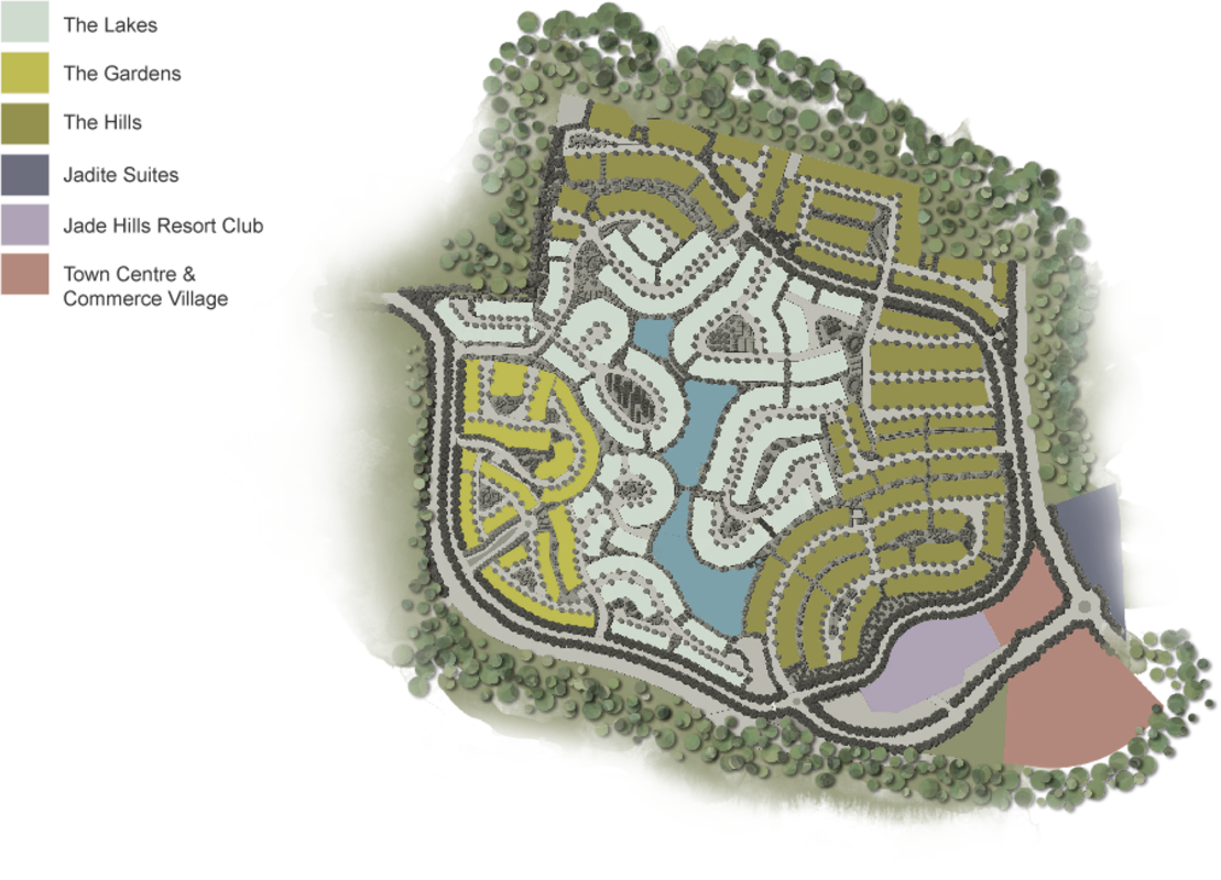 Master Plan of Jade Hills