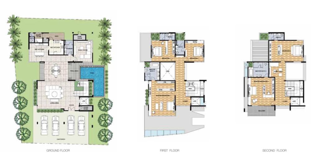 Legenda @ Southbay Legenda Scenic Floor Plan