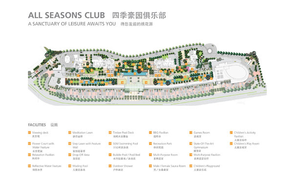 Site Plan of All Seasons Park