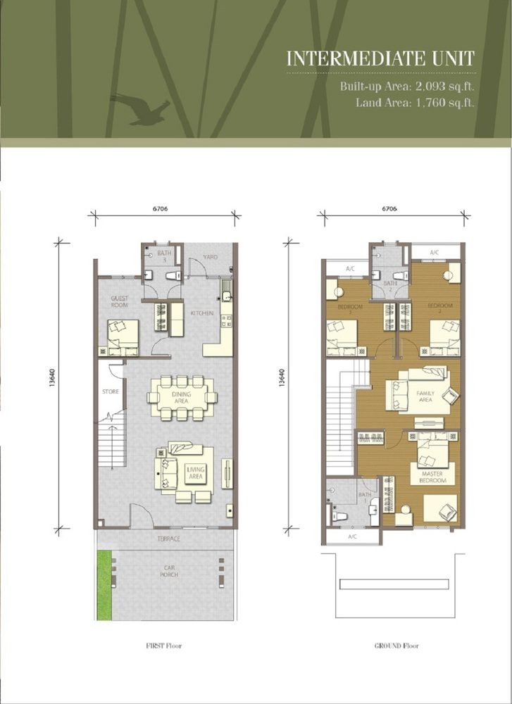 Bayuemas Gemilang - Intermediate Unit 1 Floor Plan