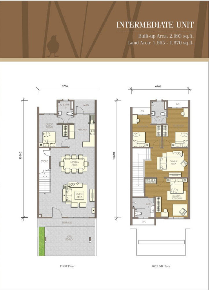 Bayuemas Gemilang - Intermediate Unit 2 Floor Plan
