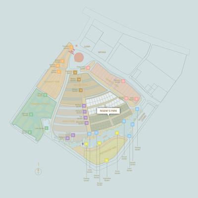 Master Plan of East Ledang