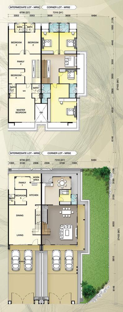 Taman Mutiara Rini 4E-MR-92 Floor Plan