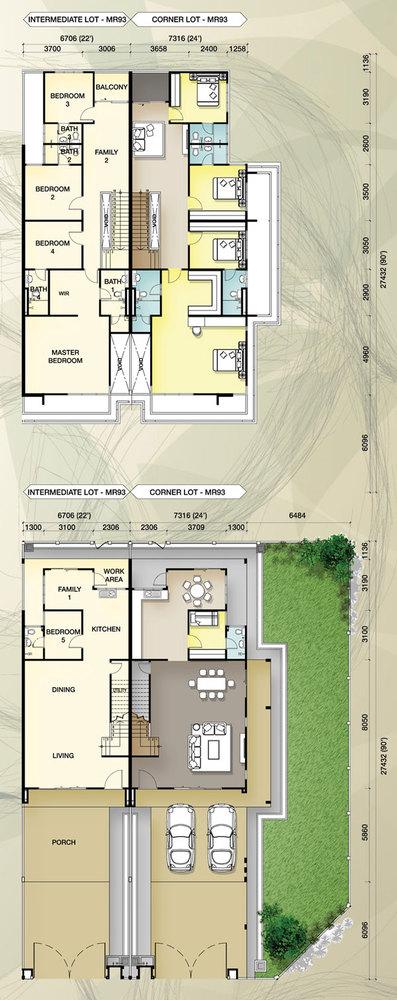 Taman Mutiara Rini 4E-MR-93 Floor Plan