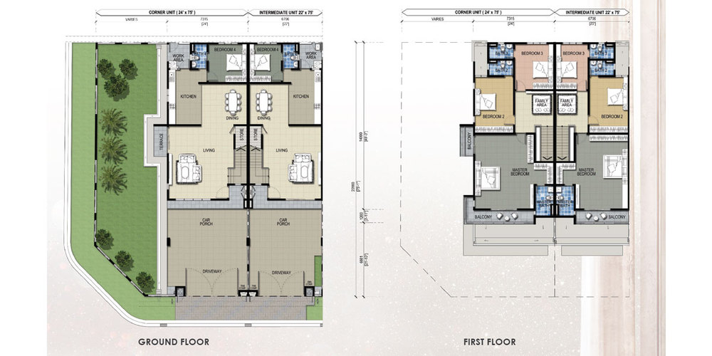Taman Mutiara Rini 6A-MR-108 Floor Plan