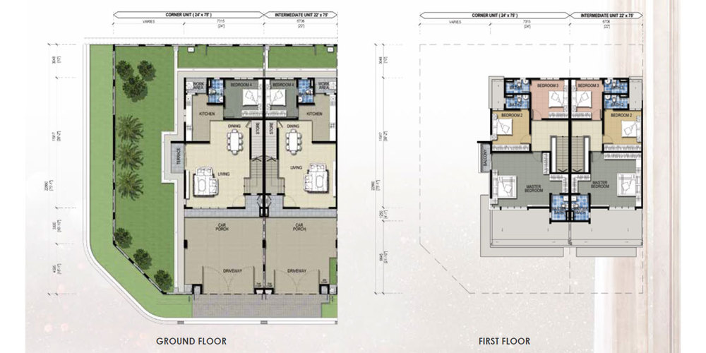 Taman Mutiara Rini 6B-MR-108 Floor Plan