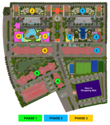 Master Plan of Mutiara Ville