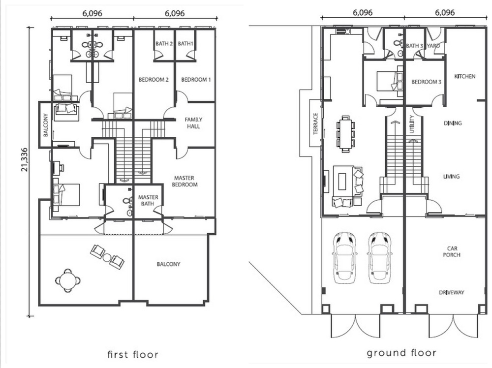 Citra Hill 2 Violet Floor Plan